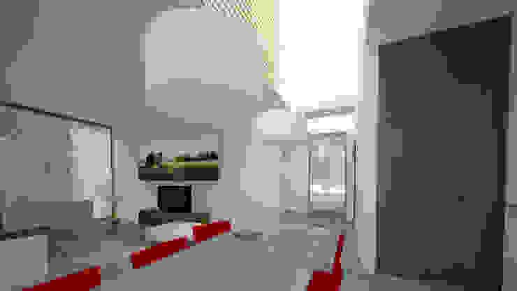 Woonhuis SAMA:  Woonkamer door 2architecten, Modern