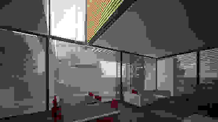 Woonhuis SAMA Moderne woonkamers van 2architecten Modern