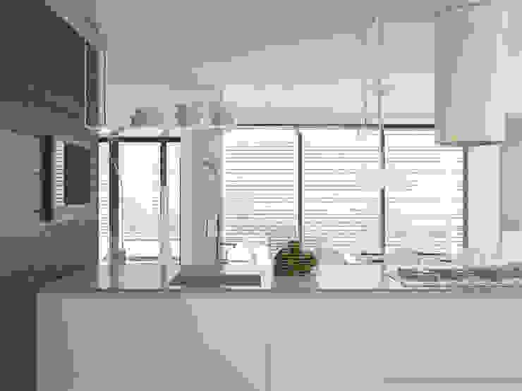 Бурдейного Кухня в стиле минимализм от Brama Architects Минимализм МДФ