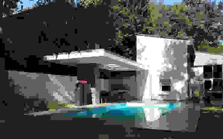 Woonhuis TIVE Rosmalen Moderne zwembaden van 2architecten Modern