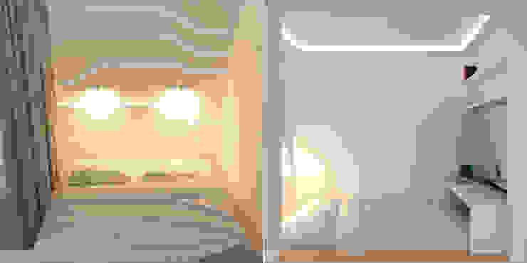 Краснодар Спальня в стиле минимализм от Brama Architects Минимализм МДФ