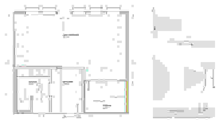 план от Brama Architects Минимализм