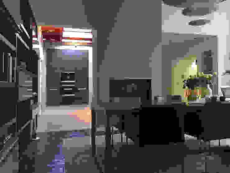 Woonhuis TIVE Rosmalen Moderne eetkamers van 2architecten Modern
