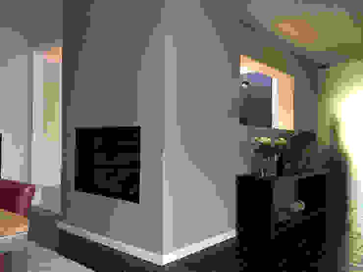 Woonhuis TIVE Rosmalen Moderne woonkamers van 2architecten Modern