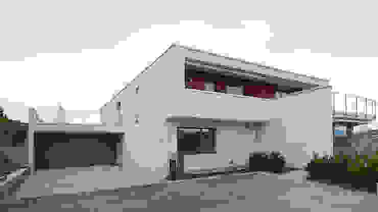 Einfamilienhaus Sonnhaldenstrasse, Schmerikon Moderne Häuser von Fröhlich Architektur AG Modern