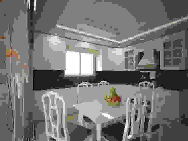 RUBA Tasarım – A.Ç. EVİ:  tarz Mutfak
