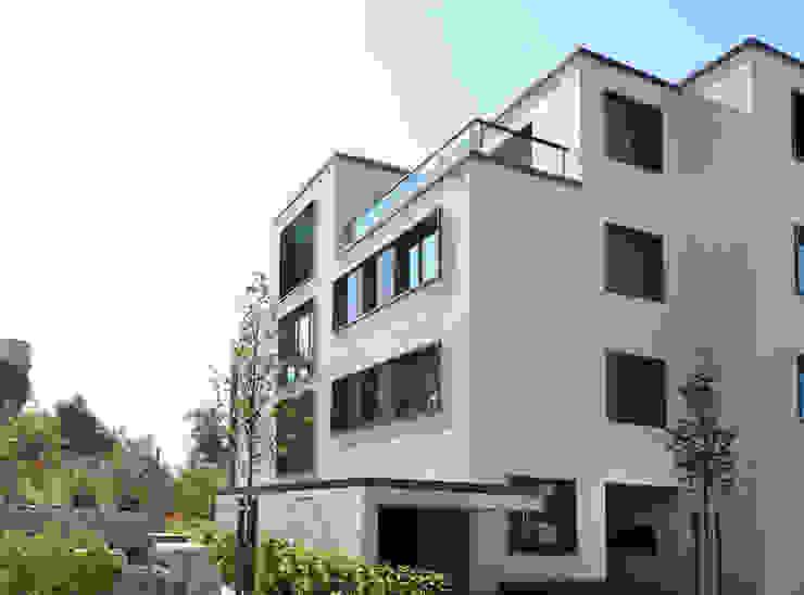Mehrfamilienhaus Etzelstrasse 11, Einsiedeln Moderne Häuser von Fröhlich Architektur AG Modern