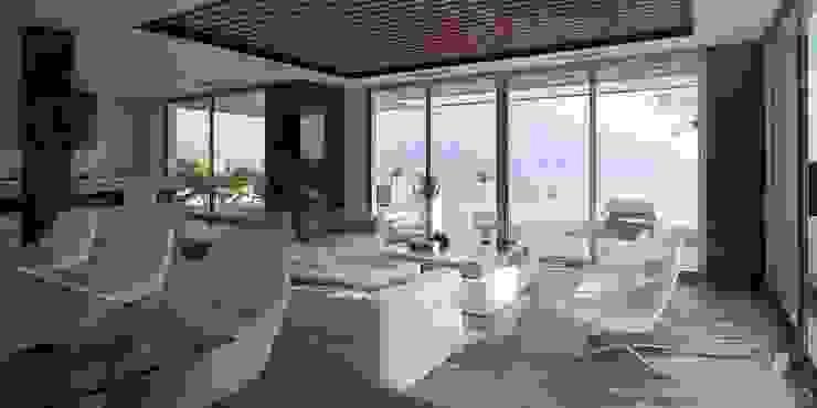 Livings de estilo moderno de Miralbó Excellence Moderno