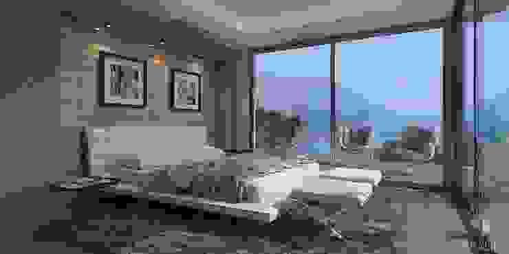 Dormitorios de estilo moderno de Miralbó Excellence Moderno