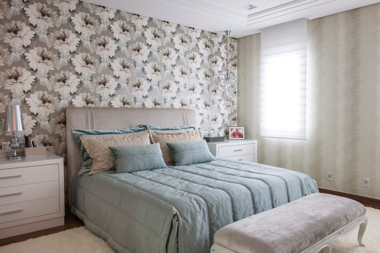 Спальни в . Автор – Adriana Di Garcia Design de Interiores Ltda
