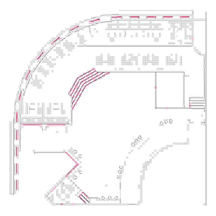 план от Brama Architects Эклектичный
