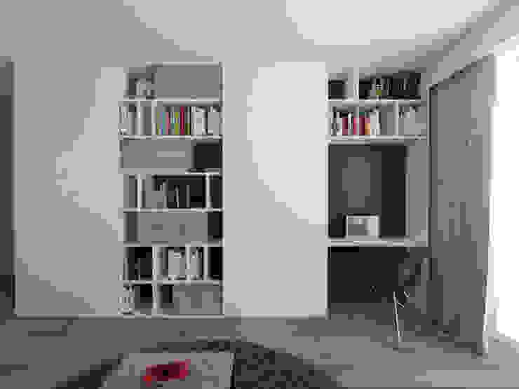스칸디나비아 거실 by PASS architekci 북유럽