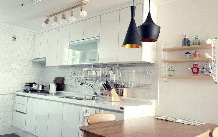 Kitchen by homelatte, Scandinavian
