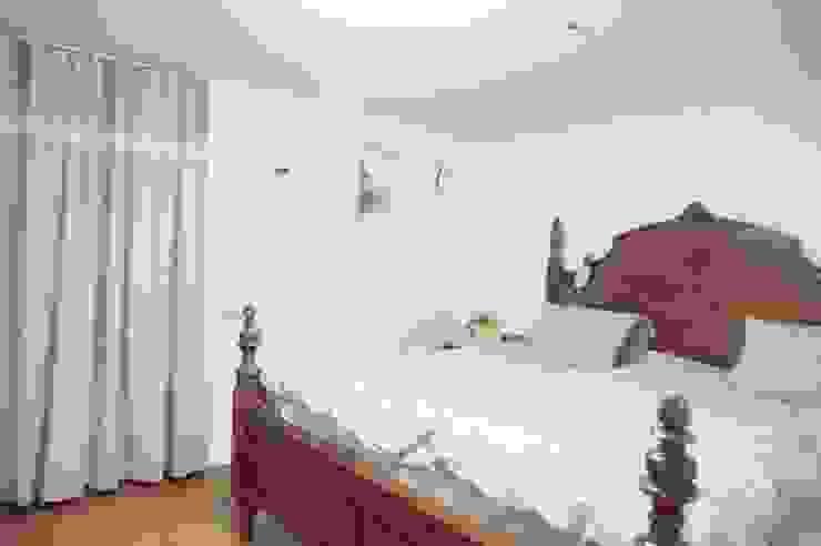 30평대 신혼집 홈 스타일링 스칸디나비아 침실 by homelatte 북유럽