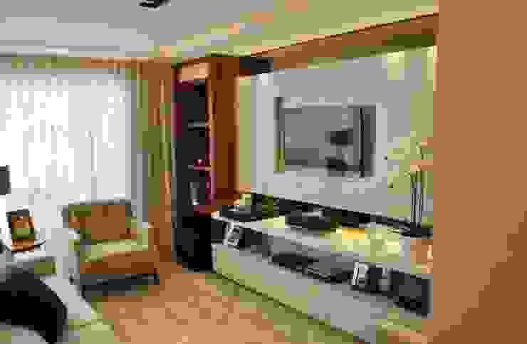 Apartamento Vila Izabel Salas de estar modernas por Viviane Cavichiolo Arquitetura Moderno