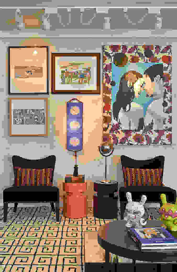Sala - Decora Lider - 2013 Salas de estar modernas por Haifatto Arq + Decor Moderno Concreto