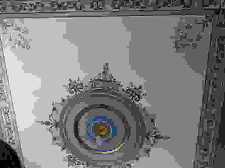 роспись потолка Гостиная в классическом стиле от Абрикос Классический