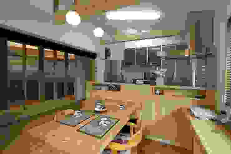 ダイニングキッチン 北欧デザインの ダイニング の 一級建築士事務所 さくら建築設計事務所 北欧