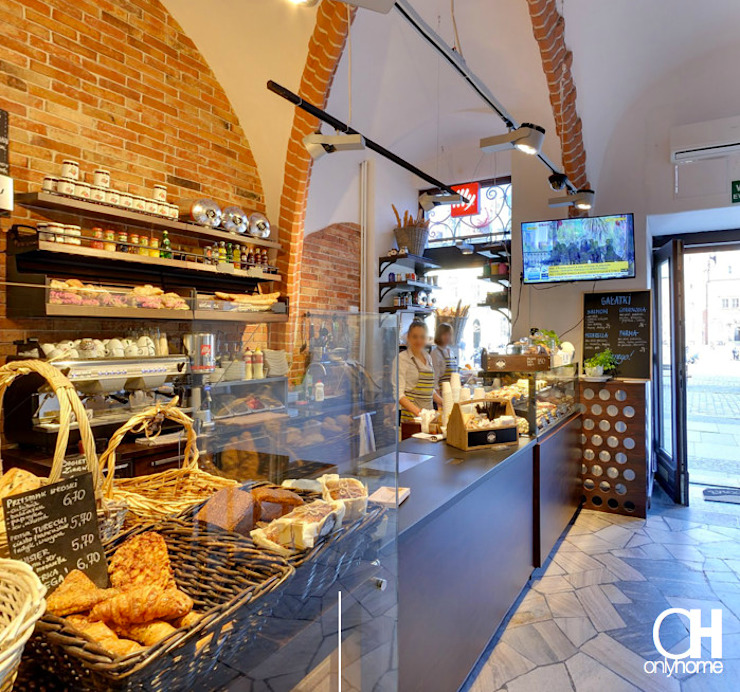 Rustic style gastronomy by OnlyHome Rustic