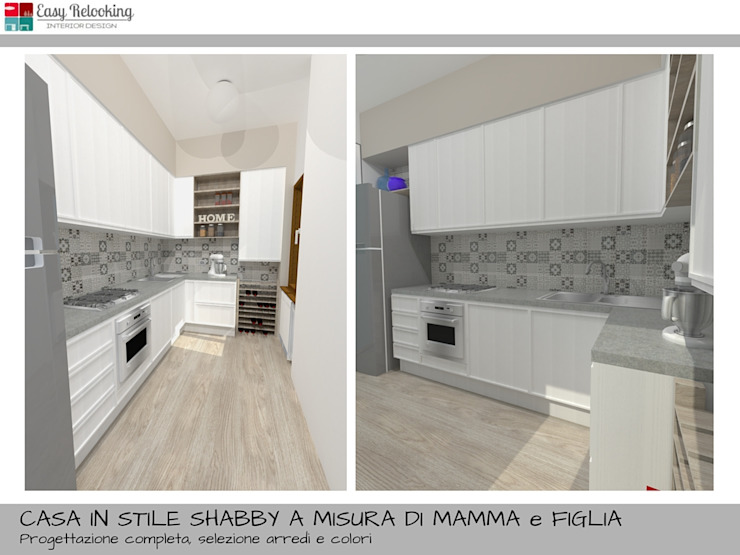 Una Casa Shabby Chic.Una Casa In Stile Shabby Chic By Easy Relooking Homify