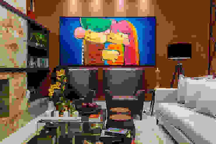 The Guest Room Salas de estar modernas por Estúdio HL - Arquitetura e Interiores Moderno