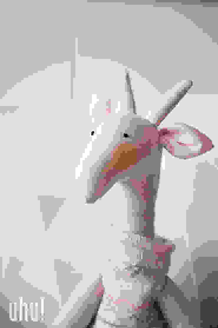 żyrafa Tosia Minimalistyczny pokój dziecięcy od uhu! Minimalistyczny