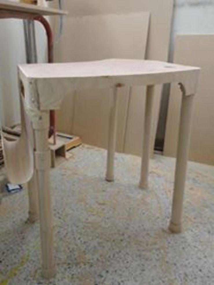 Proyecto Diseño Industrial Molde para Inyeccion mueble modular Escolar. Desarmable. de JVR Madera Y Diseño