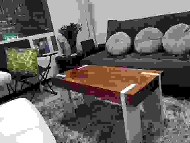 Mesas Personalizadas en Madera para espacios interiores y comedor de JVR Madera Y Diseño Moderno Madera maciza Multicolor