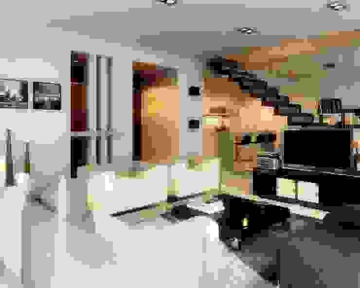 Edificio Mística VII Livings modernos: Ideas, imágenes y decoración de AMADO arquitectos Moderno