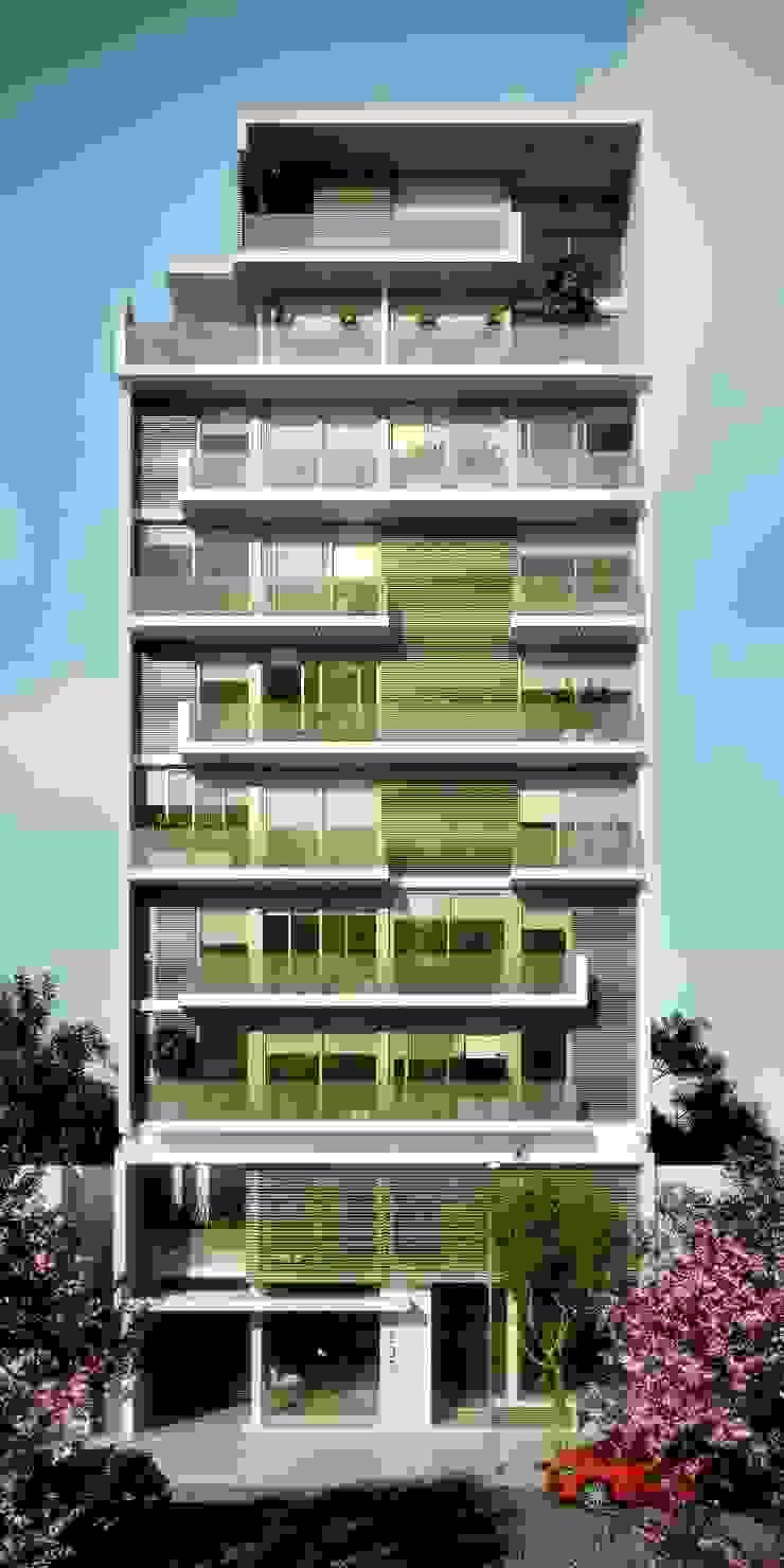 Edificio Mística VII Casas modernas: Ideas, imágenes y decoración de AMADO arquitectos Moderno