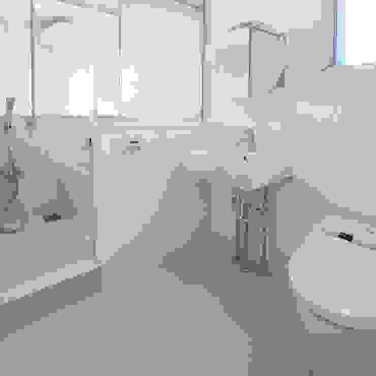 立川の賃貸マンション モダンスタイルの お風呂 の ユミラ建築設計室 モダン