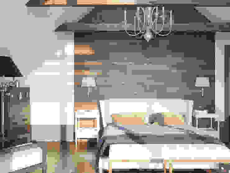Волки Спальня в колониальном стиле от Brama Architects Колониальный Изделия из древесины Прозрачный