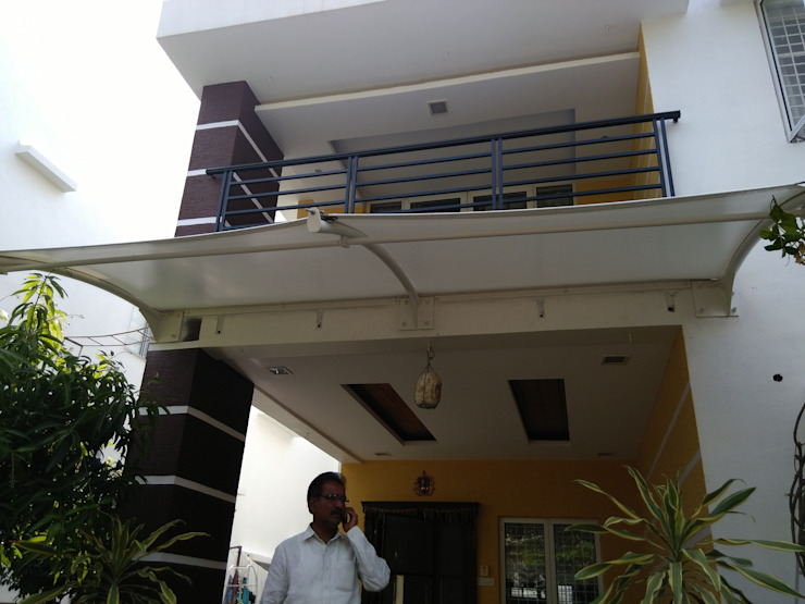 Modern Terrace by Fabritech India Modern