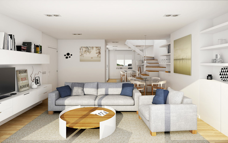 Modern living room by SouthVisions SL Modern