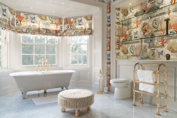 Master Bathroom Eclectic style bathroom by homify Eclectic