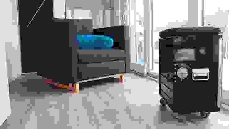 Stefan Brandt - solare Luftheizsysteme und Warmuftkollektoren Minimalist living room