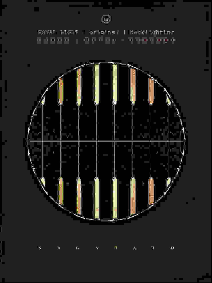ROYAL LIGHT[disk][dynamic rotation] от KAGADATO Лофт Стекло