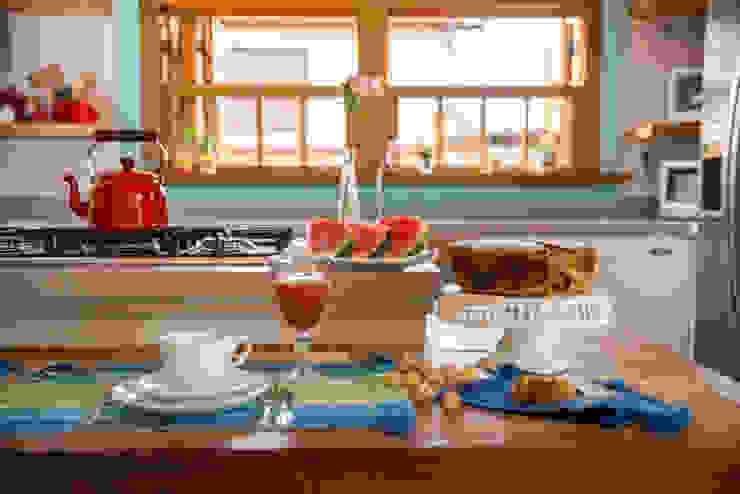 Cozinha Cozinhas coloniais por Falchetti Concept Colonial