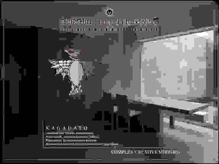 Creative mirror. KAGADATO 書房/辦公室配件與裝飾品 玻璃
