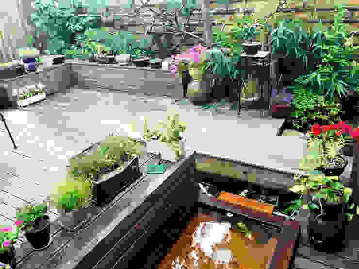 Jardines de estilo  por 비온후풍경 ㅣ J2H Architects