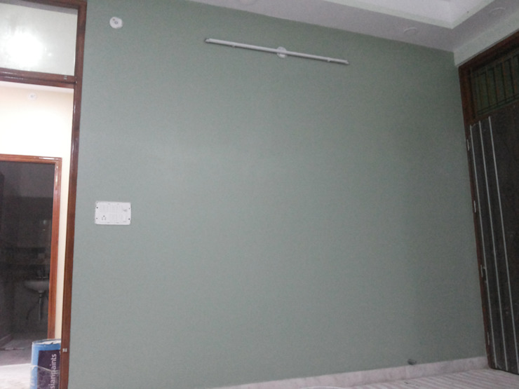 Interior Painting WOrk Asian style bedroom by Quik Solution Asian
