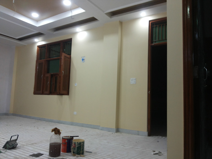 Interior Painting WOrk Asian style corridor, hallway & stairs by Quik Solution Asian
