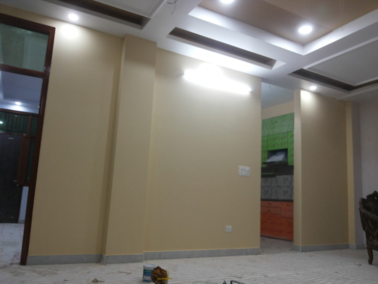 Interior Painting WOrk Asian style dining room by Quik Solution Asian