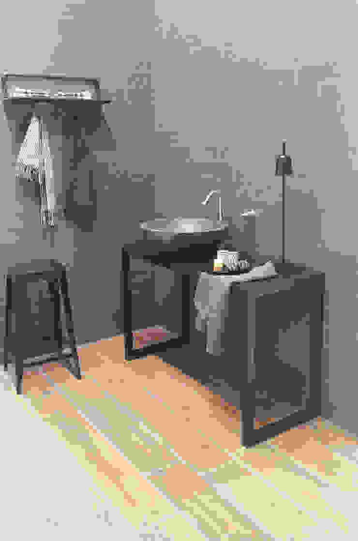 Diamond Washbasin_Gray Bagno moderno di PURAPIETRA Moderno Marmo