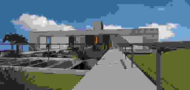 casa hc Varandas, alpendres e terraços modernos por grupo pr | arquitetura e design Moderno