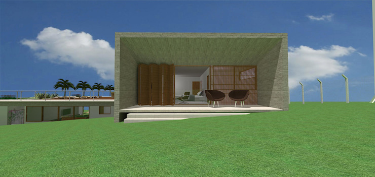 casa hc Casas modernas por grupo pr | arquitetura e design Moderno