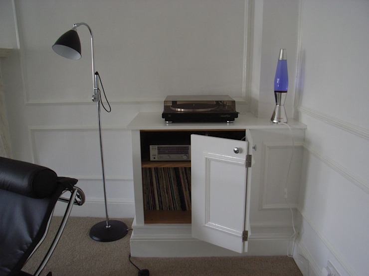 living room storage cabinet Style Within Salones modernos