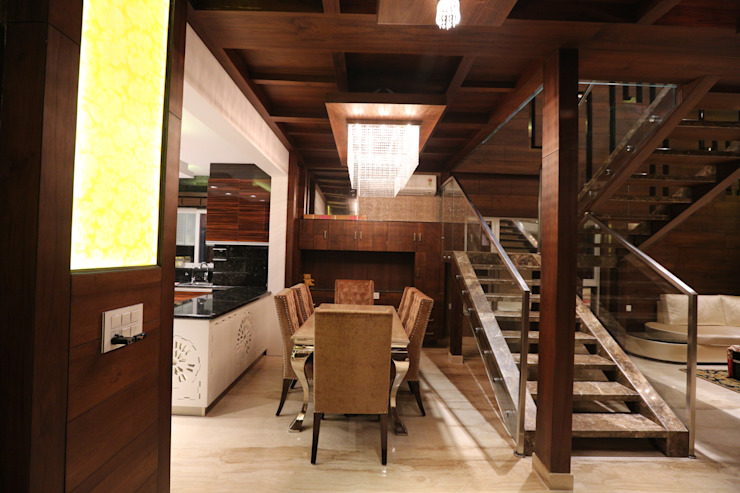 apartment Modern dining room by Asimetric Consultants Modern