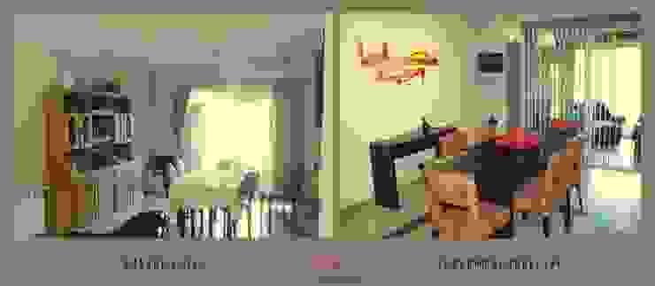 Remodelación Estar-Comedor de Arq-Diseño Interior