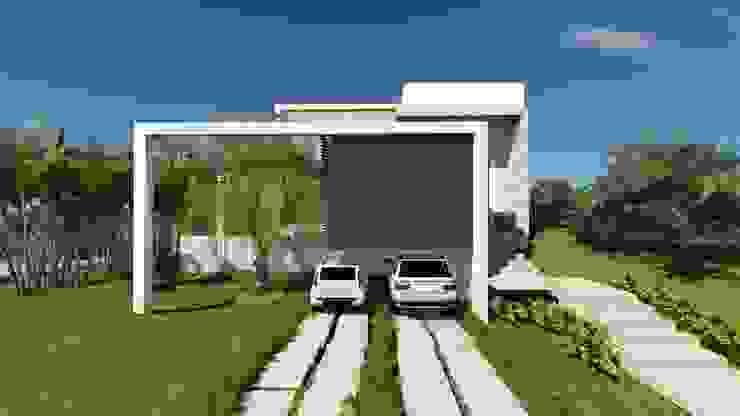 Casa RF Casas modernas por Renata Matos Arquitetura & Business Moderno